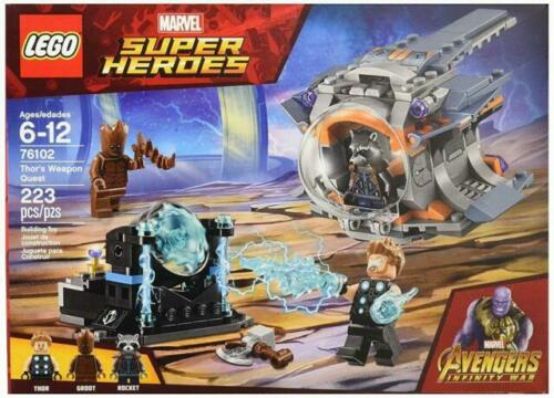 76102 LEGO Marvel Super Heroes Thor/'s Weapon QuestNew
