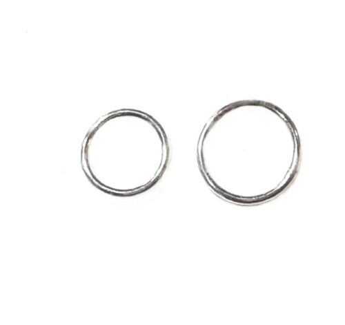 925 Sterling Silver Jump Ring,Closed 0.50mmx3mm