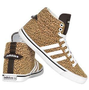adidas neo schuhe leopard