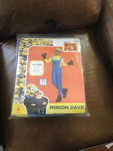 Illumination-DESPICABLE-ME-3-MINION-DAVE-CHILD-COSTUME-NIP-Halloween-w-Goggles