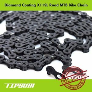 TIPSUM-X11SL-Diamond-Coating-DLC-11-Speed-Bike-Chain-Shimano-SRAM-CAMPAGNOLO-KMC