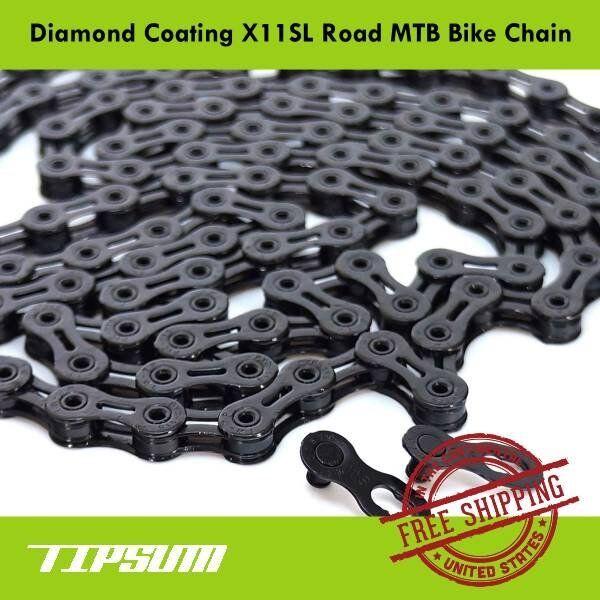 KMC X10SL DLC Diamond RED BLACK 10 Speed Bike Chain fit SRAM Campagnolo Shimano