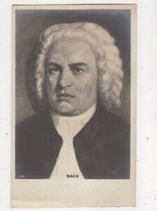Johann Sebastian Bach Vintage Postcard Music 609b - Aberystwyth, United Kingdom - Johann Sebastian Bach Vintage Postcard Music 609b - Aberystwyth, United Kingdom