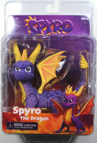 Neca ~ Spyro le Dragon Action Figure ~ neuf et non ouvert ~ RARE