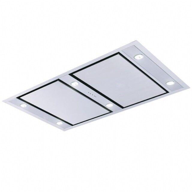 Emhætte, Silverline Matrix Roof 120 cm, stål