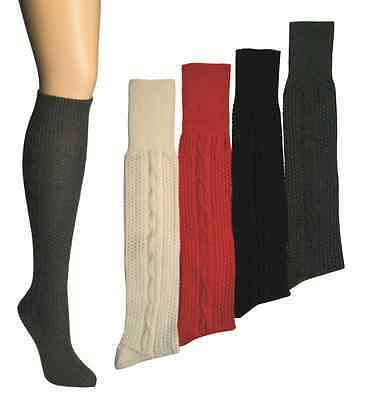 Kniebundhosen-Strümpfe,uni-gemustert,Größe 35-38 bis 47-49