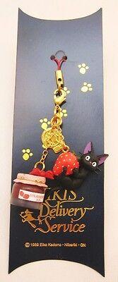 kiki's delivery service Phone Strap 01 Jiji Strawberry jam Studio Ghibli Japan