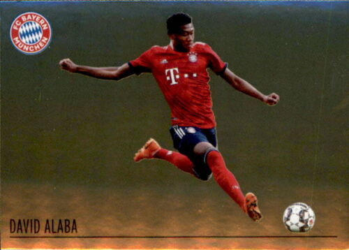 Sticker 52 David Alaba Panini FC Bayern München 2018//19