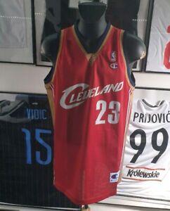 size 40 e011e cd86d Details about Jersey T-Shirt Basketball Cleveland Cavaliers NBA Lebron  James Champion XL