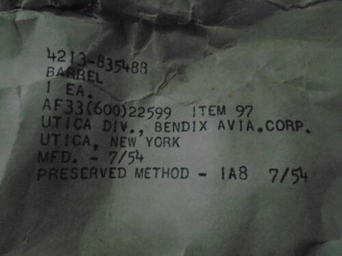 1 EA NOS PRESERVED BENDIX DRIVE BARREL FOR UNK VINTAGE AIRCRAFT ENG P//N 835488
