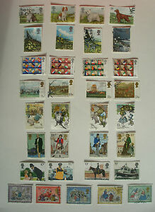 COMPLETE SET OF COMMEMERATIVES FROM 1979 (THE STAMPS YOU SEE R THE STAMPS U GET