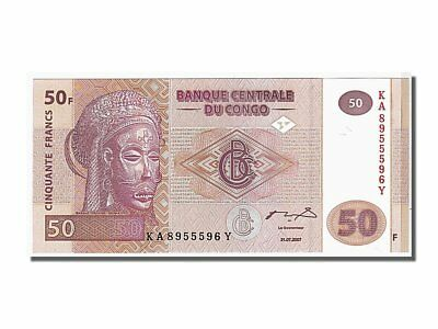 Km #97a High Standard In Quality And Hygiene 2007 Congo Democratic Republic 50 Francs 65-70 #106884 Hospitable Unc