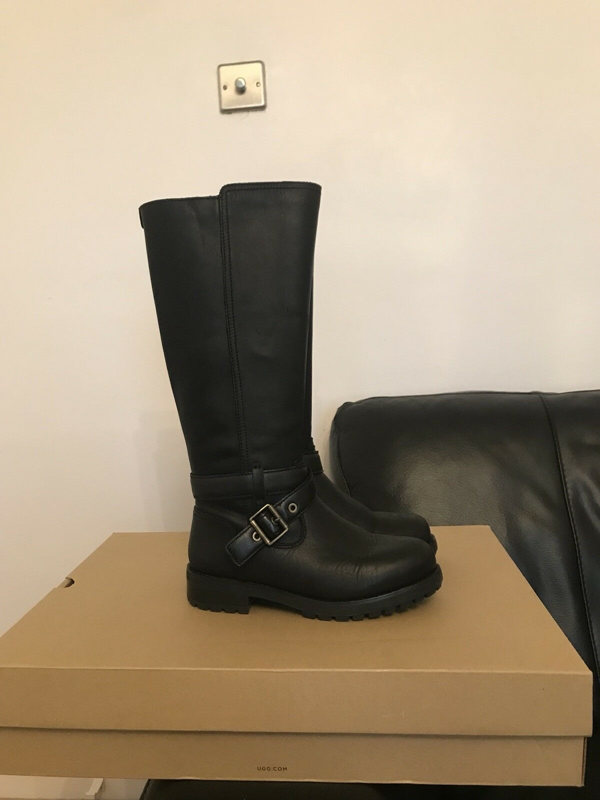 Womens Fly London Yoss Chelsea BLACK Boots BLACK Chelsea MOUSSE Boots 763a32