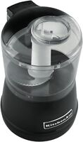 Kitchenaid 5kfc3511aob Artisan Mini Chopper - Onyx Black