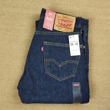 NWT Levi/'s Men/'s 505 Classic Regular Fit Straight Leg Denim Jeans Pants All size