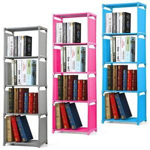 Image Is Loading 4 Tier Kids Bookcase Bookshelf Childrens Room Waterproof
