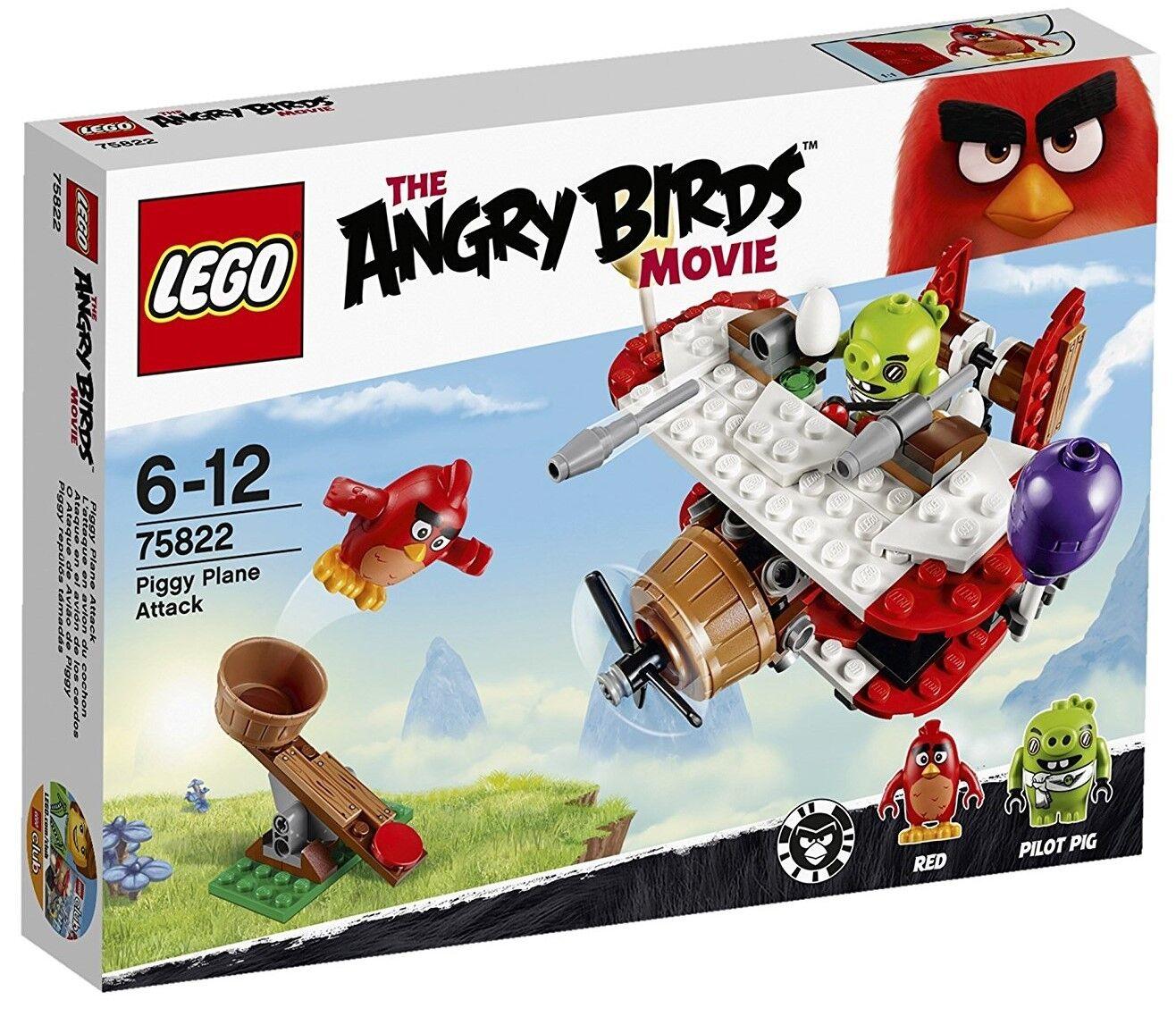 Ataque en el Avión de los Cerdos - LEGO ANGRY BIRDS 75822 - NUEVO