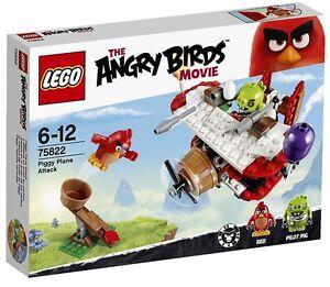 Ataque-en-el-Avion-de-los-Cerdos-LEGO-ANGRY-BIRDS-75822-NUEVO
