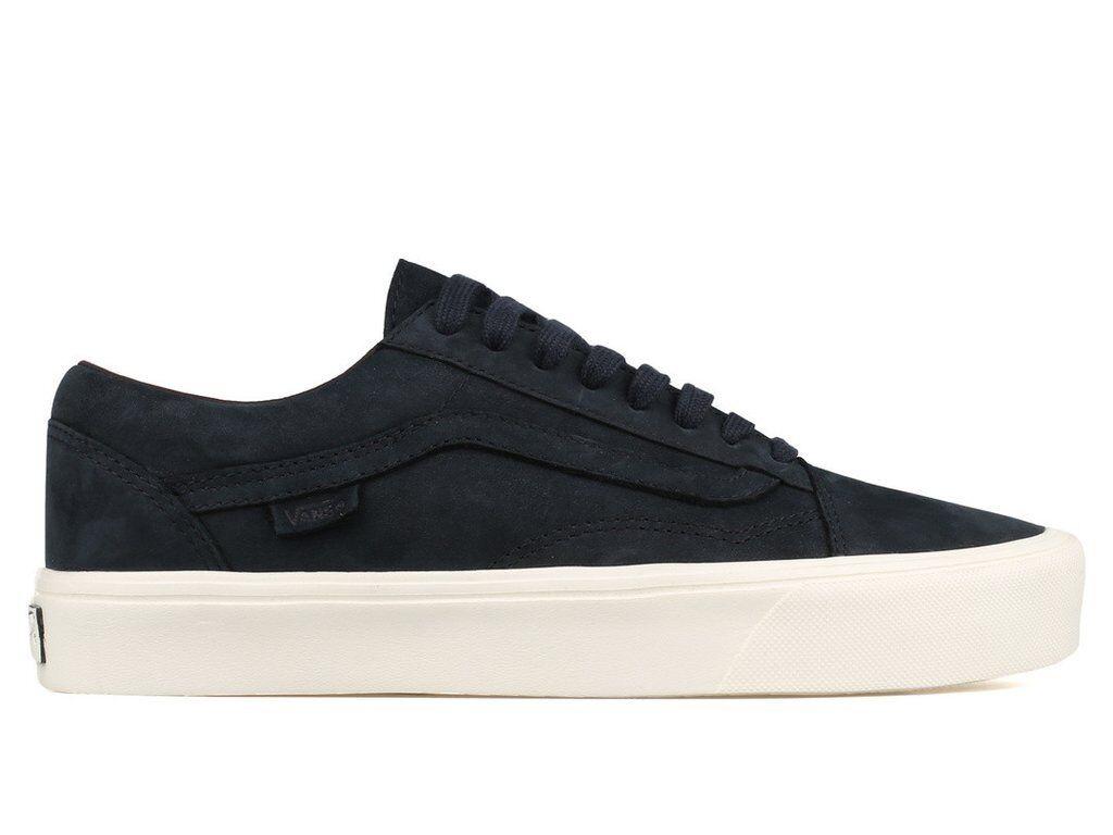 Vans Vault Old Skool Lite LX Men's Size 13 Shoes Nubuck Navy Lightweight NEW