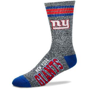 New-York-Giants-NFL-For-Bare-Feet-Gray-Got-Marbled-Crew-Socks