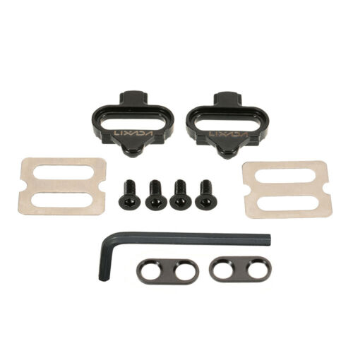 BIike MTB Cleat Set Clips Kit W//Hardware Nuts Clip-in Cleats for SPD Pedals M2K6