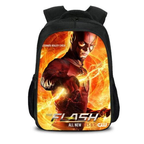 Avengers Flash Backpack Kids Schoolbag Students Bookbag Boys Handbags Travelbag
