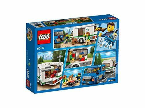 LEGO City 60117 – Van & Wohnwagen