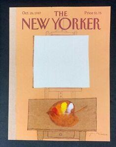 COVER-ONLY-The-New-Yorker-Magazine-October-26-1987-Eugene-Mihaesco