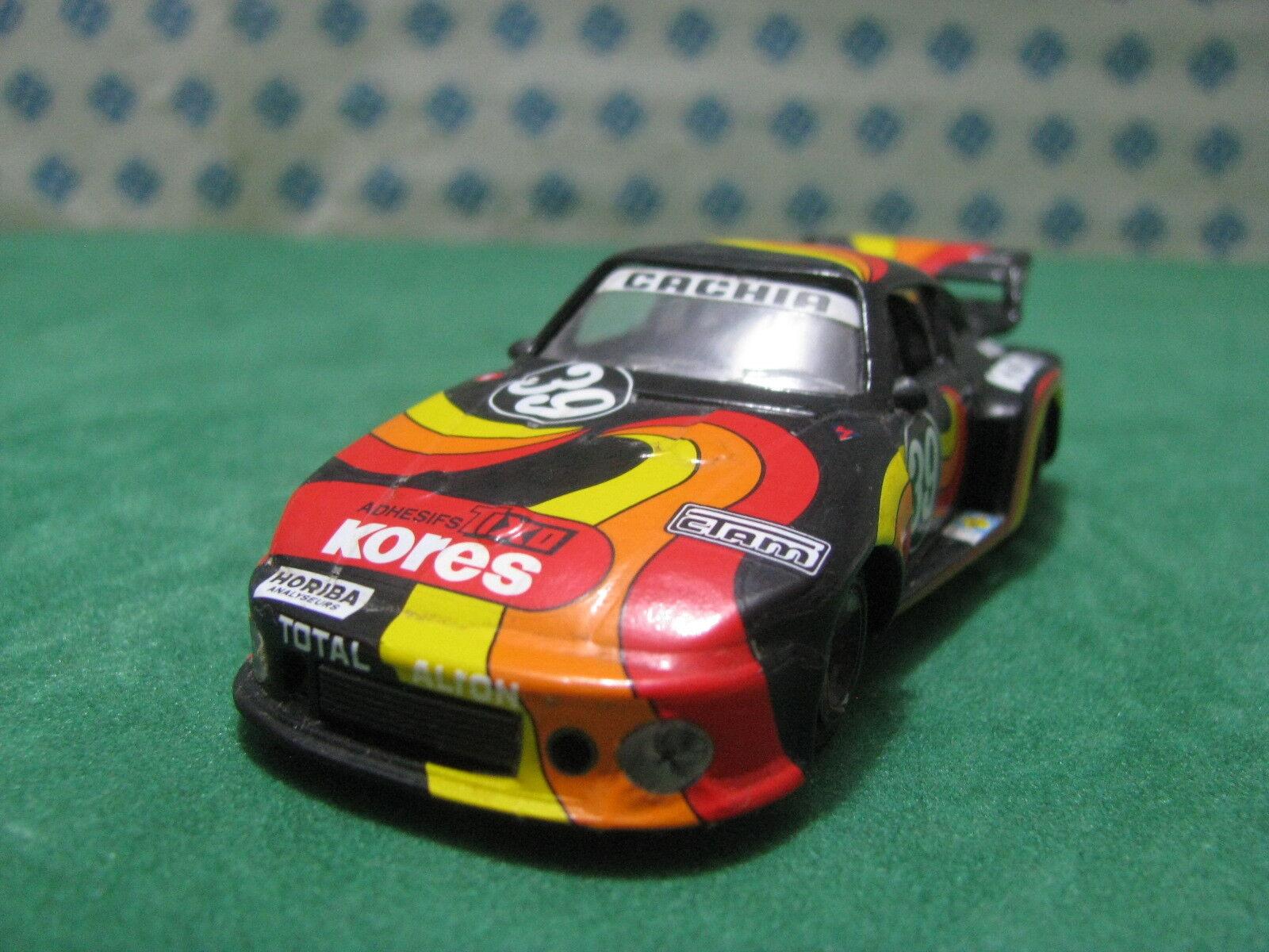 Vintage - PORSCHE 935 Le Mans 1979 - 1 43 Solido 2 Ref.1702 Kit monté