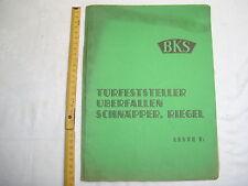 BKS-Katalog , Türfeststeller , Überfallen , Schnäpper , Riegel , 1935