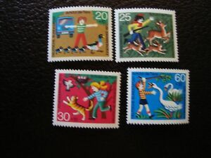 Germany-Rfa-Stamp-Yvert-Tellier-N-560-A-563-N-MNH-COL2