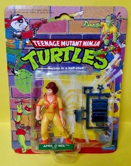 April O'Neil french card figure figure figure 1990 Playmates  NEW Teenage Mutant Ninja Turtles d92eca
