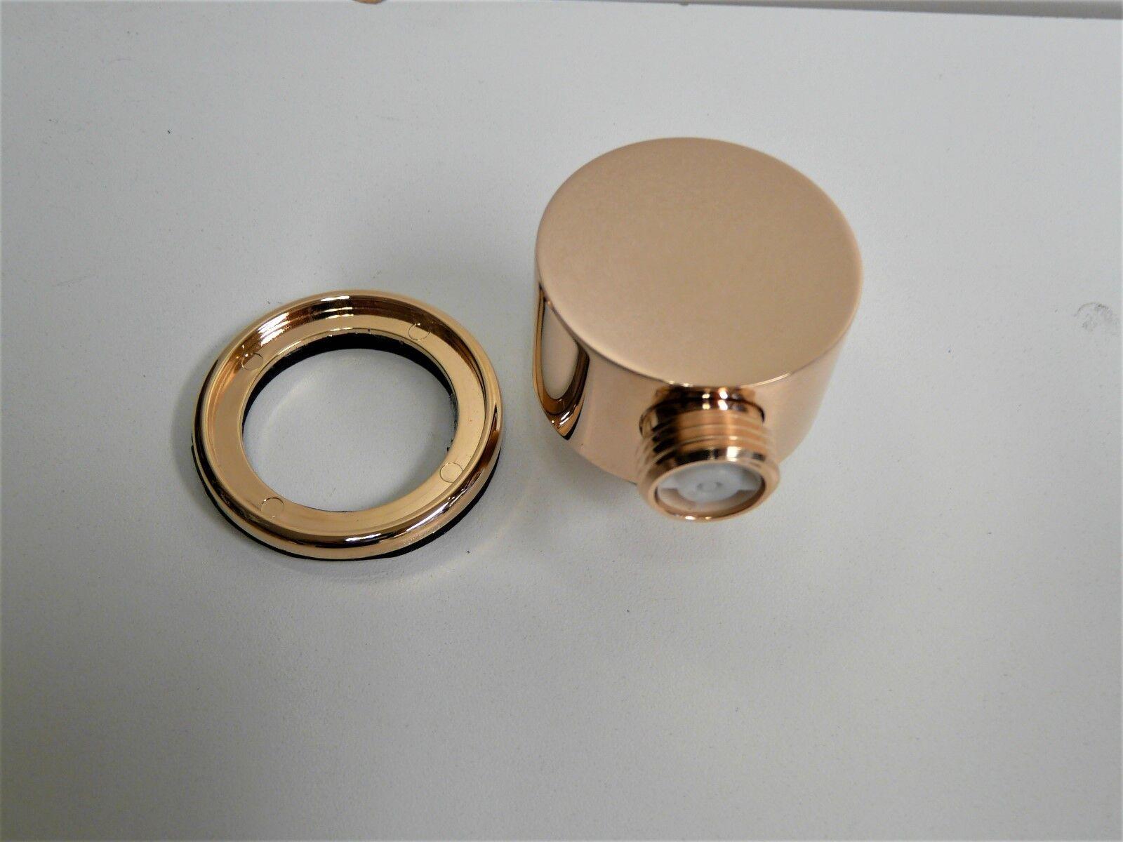 Wandanschlussbogen Rosa-Gold, Cyprum, Rot-Gold, Brauseanschluss, Wandbogen   Verbraucher zuerst    Kaufen Sie beruhigt und glücklich spielen    Viele Stile    Neu