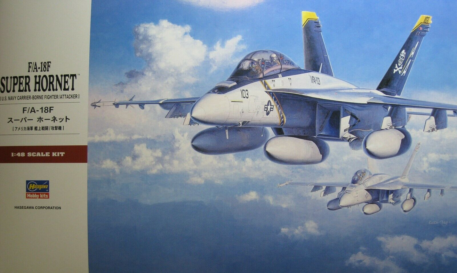 1 48 Boeing F A-18F Super Hornet by Hasegawa