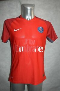 MAILLOT-FOOT-NIKE-PSG-PARIS-TAILLE-M-JERSEY-SOCCER-VINTAGE-THOMSON