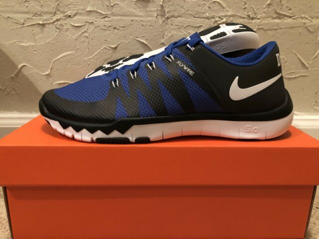 brand new 931ed 44976 Nike Free Trainer 5.0 V6 AMP Duke Blue Devils Mens Size 10 DS NEW! 723939