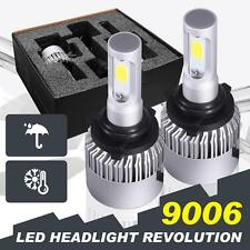 9006 HB4 160W 16000LM PHILIPS COB Car LED Headlight Kit Light Bulbs 6000K Power