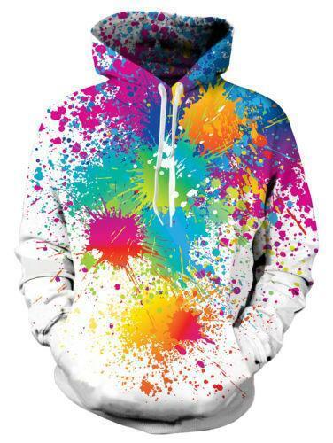 Men Women Fashion 3D Graphic Print Hoodie Sweashirt Pullover Hooded Sweater Coat