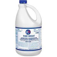 Kik Custom Products Pure Bright Ultra Bleach, 1 Gal, 6/ct, White 8635042ct