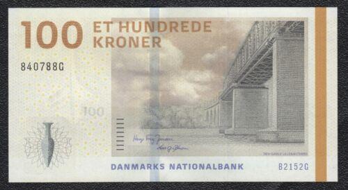 Details about  /DENMARK DANMARK 100 KRONER 2009 SIGNATURE HUGO FREY JENSEN BANKNOTE UNC
