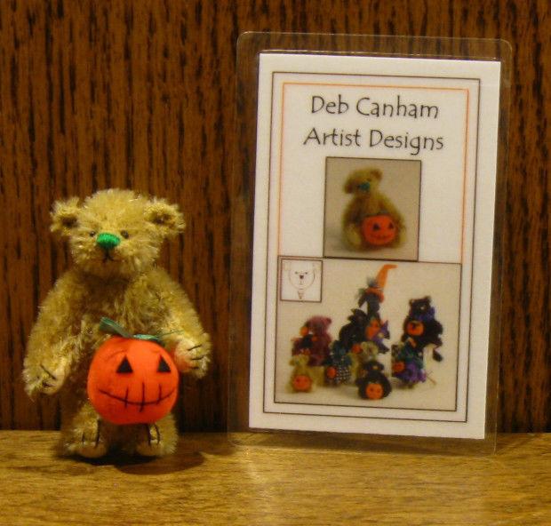 DEB CANHAM Artist Designs TAFFEE, Pumpkin Pumpkin Pumpkin Gang Coll. 2.25  LE From Retail Store 5008a2