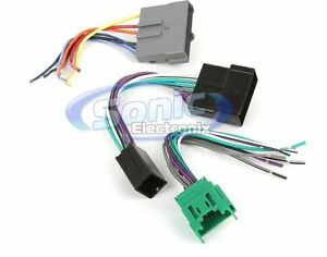 ford factory radio amp wiring harness scosche fdk8b 16-pin factory amplifier bypass wire harness ...