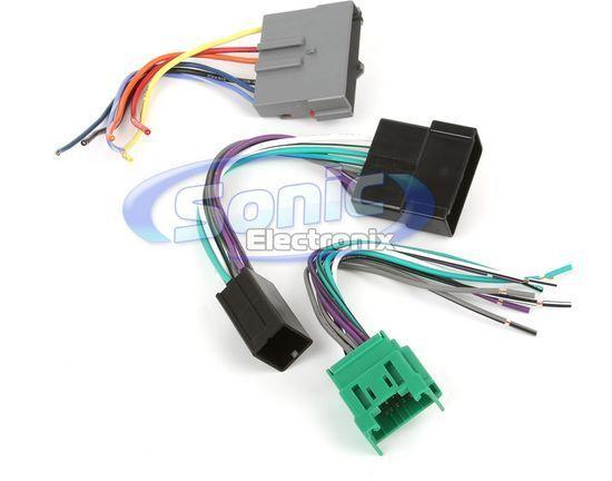 scosche fdk8b wiring harness with oem plugs and amplifier bypass Scosche Fdk106 Wiring Harness