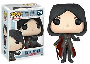 BOX-DAMAGED-Funko-POP-Games-Assassin-039-s-Creed-Evie-Frye-Action-Figure