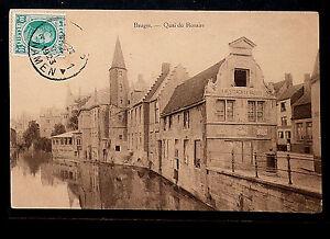 Belgie-302-Brujas-1923-Quai-du-Rosaire