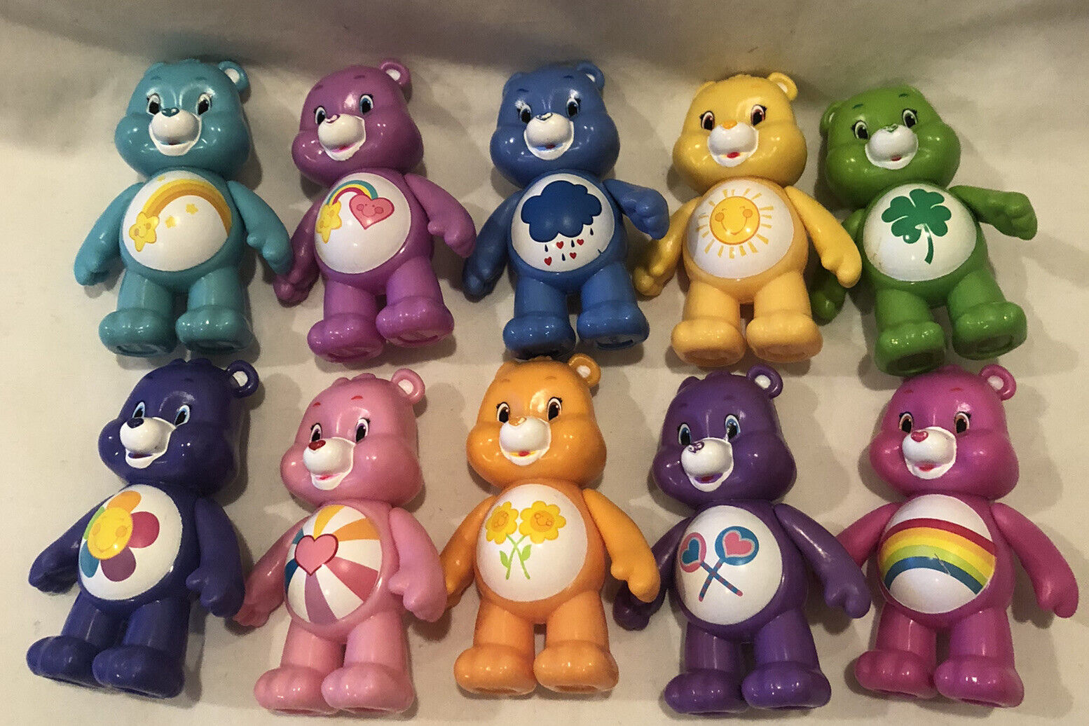 Care Bears Figures 5Pk Set Children Play Toy Collection