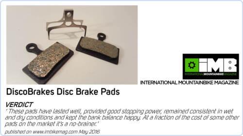 Mountain Bike Disc Brake Pads for SRAM Avid Elixir 3 sets Discobrakes
