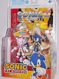 Sonic Hedgehog Blaze Mip Sega 3 Action Figure Comic Book 2 Pack Jazwares Set 681326657767 Ebay