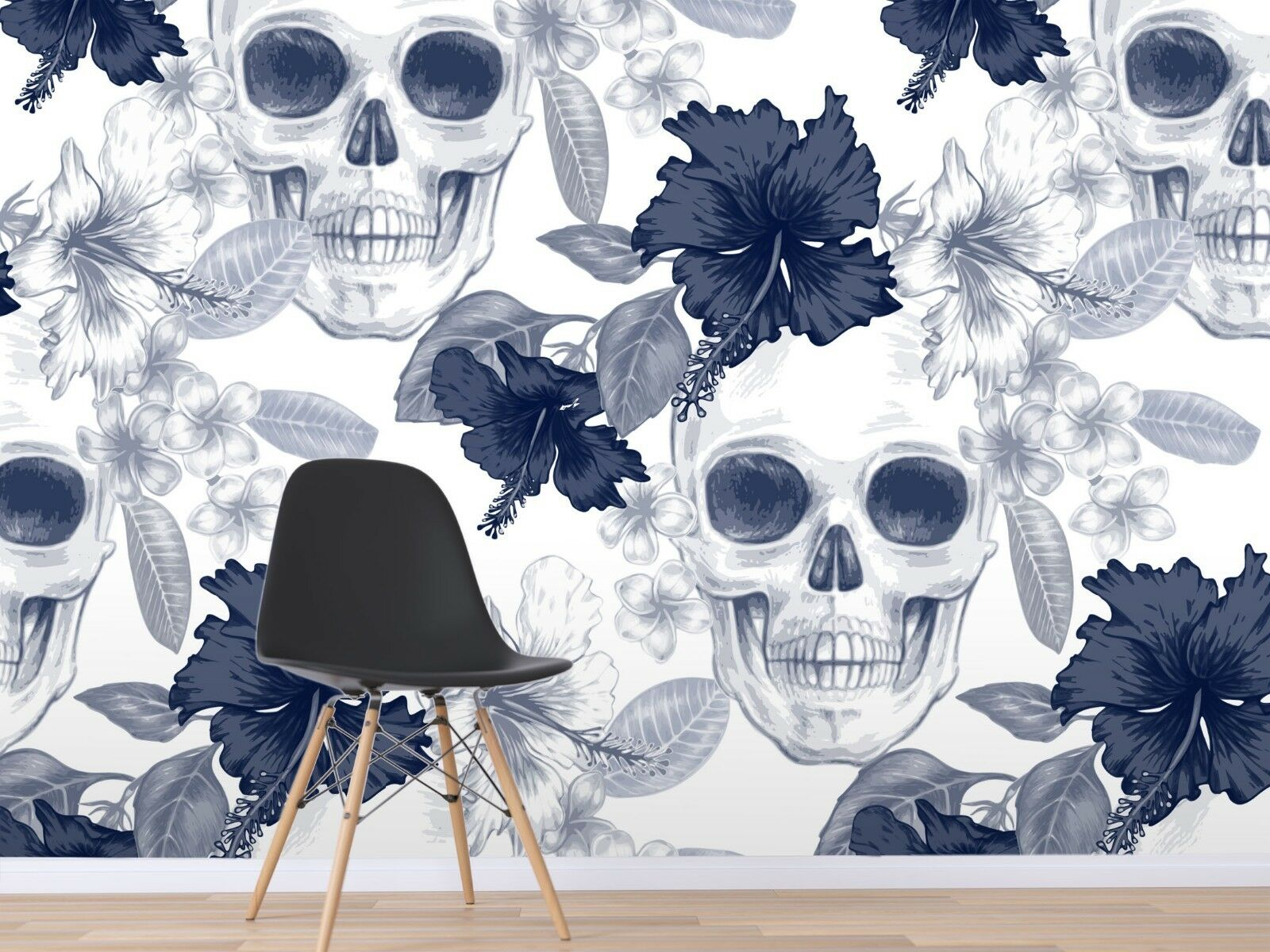 3D Grau Schädel 999 Tapete Wandgemälde Tapete Tapeten Bild Familie DE Sidney