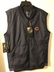 Nike Chicago Bears On Feild Vest Sz Small 944334 449 Sold Out